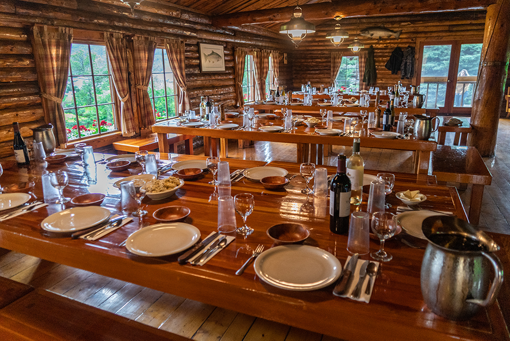 Kulik Lodge Dining Room