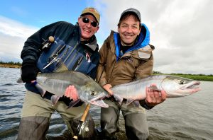 Kulik Lodge King Salmon by Barry and Cathy Beck