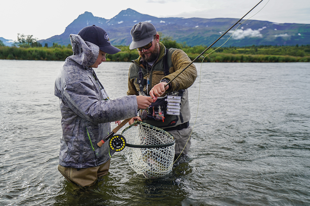Kulik Lodge Rigged for Trout