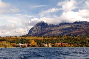 Kulik Lodge from Nonvianuk Lake