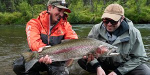 Kulik Lodge Big Rainbow Trout