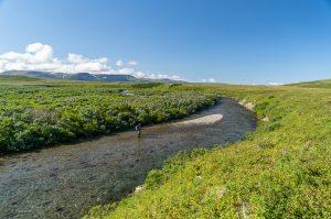 Kulik Lodge Fly Fishing Funnel Creek
